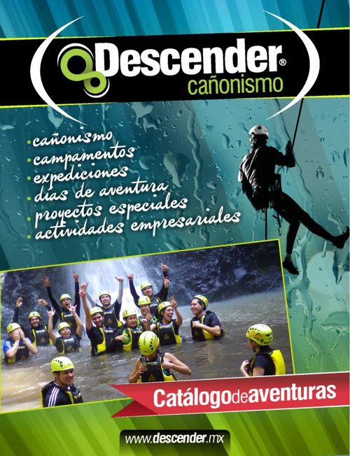 CATALOGO DE AVENTURAS DESCENDER 2015
