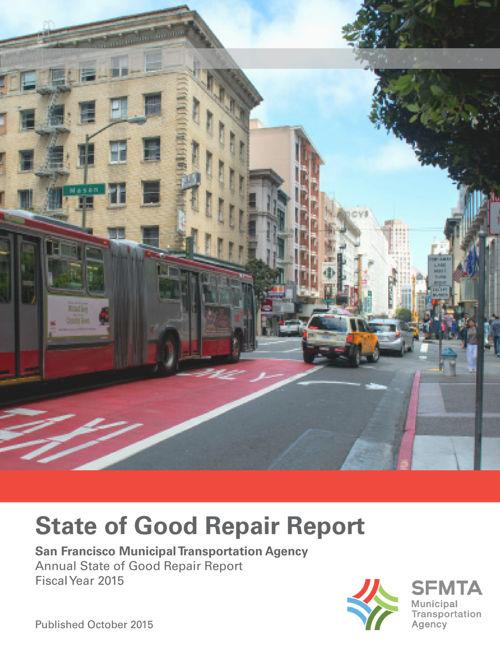 SFMTA 2015 SGR Report
