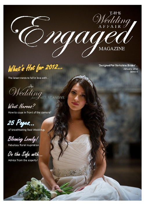 The Wedding Affair 'Engaged' Magazine