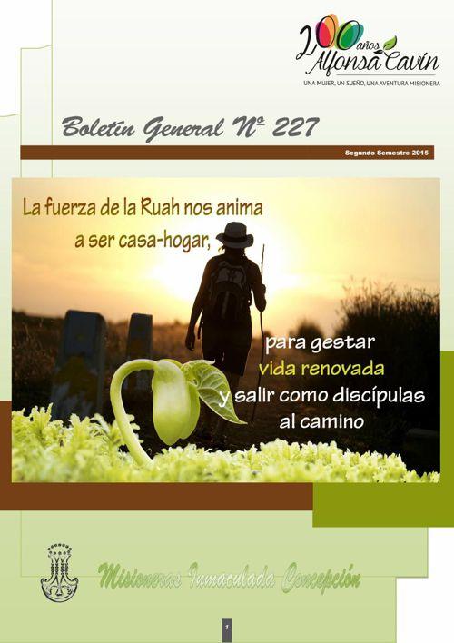 REVISTA BOLETÍN GENERAL MIC 227