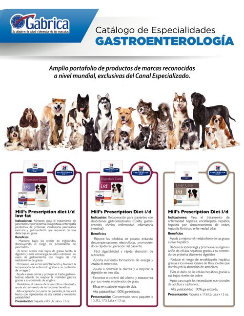 Catálogo Digital Gastroenterología