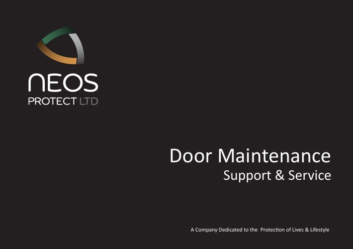 NEOS Maintenance