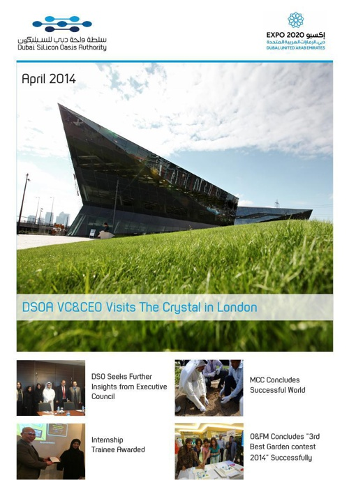 DSOA Newsletter April 2014