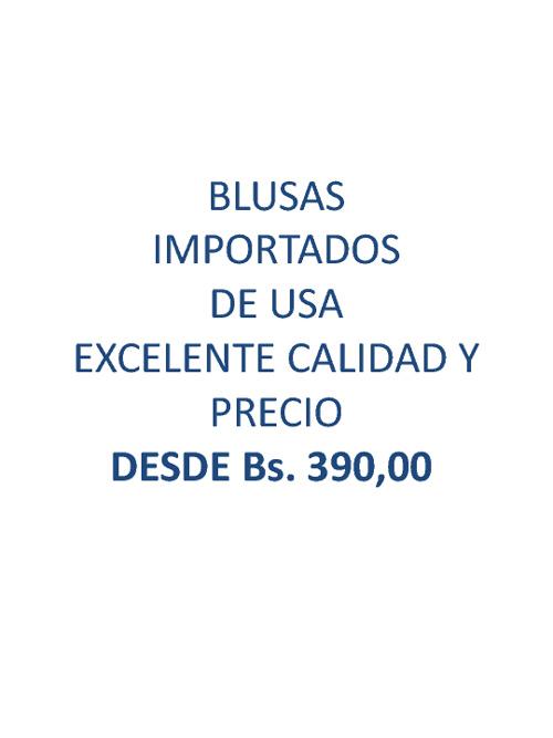 Blusas 2012