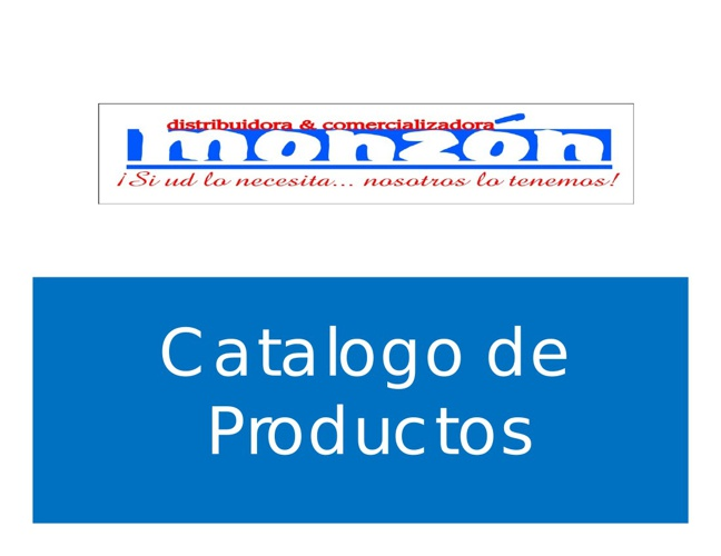 Catalogo Distribuidora Monzon