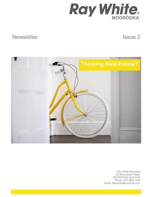 Ray White Moorooka Newsletter -  Issue 2