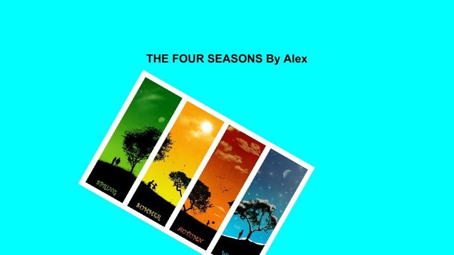 Alexsfourseasons