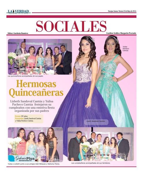 SOCIALES 23 MAYO 2014
