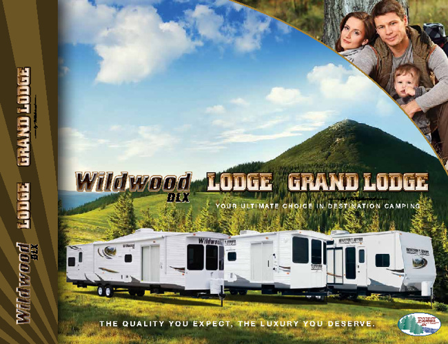 2012 Wildwood DLX,and2012 Lodge  by ForestRiver RV brochure