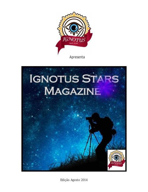 Ignotus Stars Magazine Agosto 2014