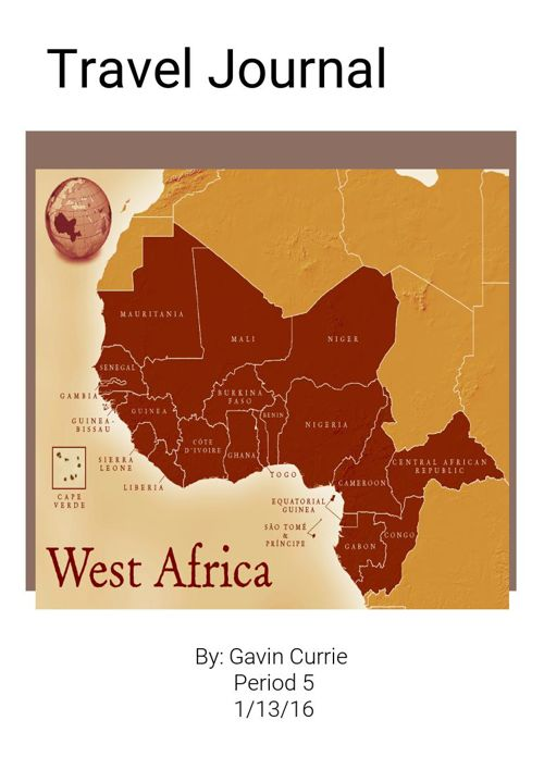 West Africa Travel Journal