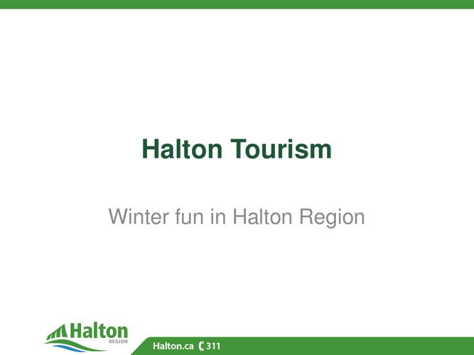 Winter fun in Halton Region