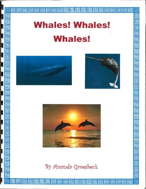 Whale Book Sample Lynn Franey 2012