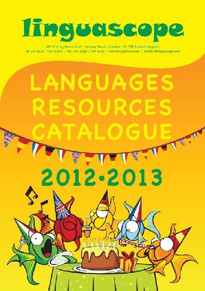 Linguascope Catalogue 2012-2013