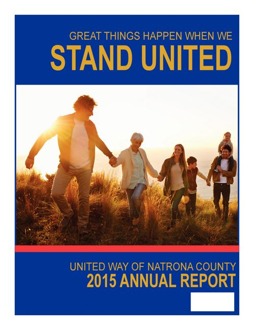 United Way of Natrona County's Annual Report 2015