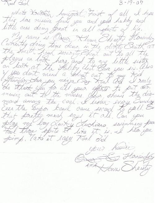 """Pocos Pero Locos """"Dedications From The Pen"""" Letters 2007: Vol. 6"""