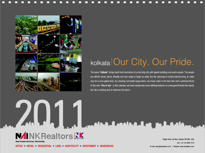 NK Realtors Calendar 2011