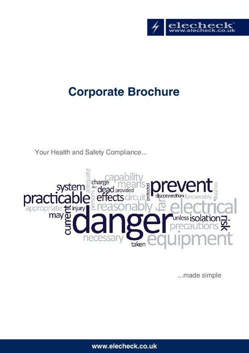 Elecheck Corporate Brochure