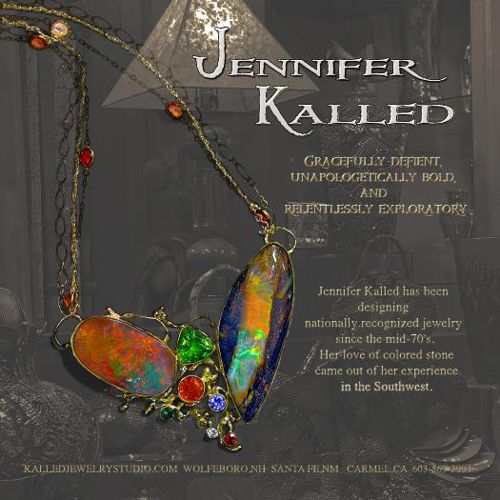 Jennifer Kalled Fine Jewelry, specializing in Australian boulder