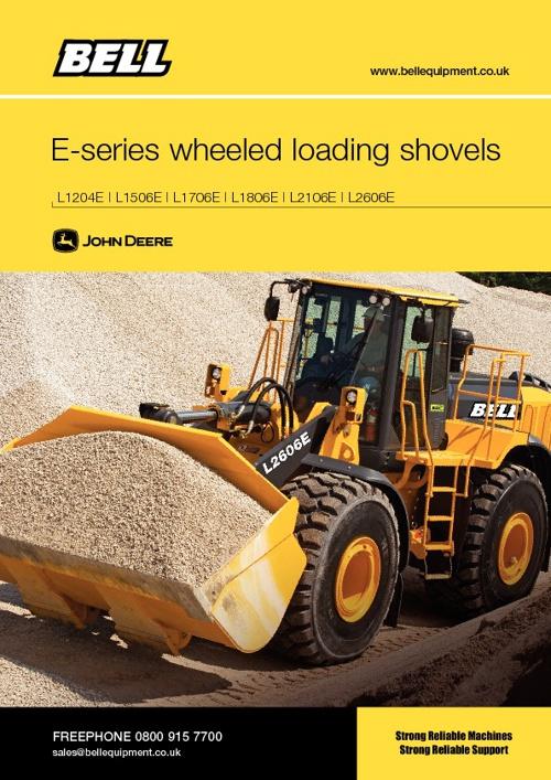 Bell Wheeled loaders range brochure