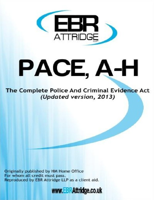 PACE. Codes A-H (revised 2013)