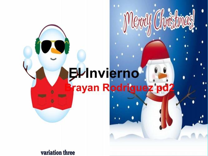El Invierno- Brayan Rodriguez