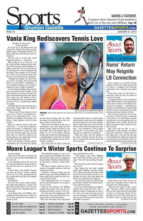 Gazette Sports | January 21, 2016