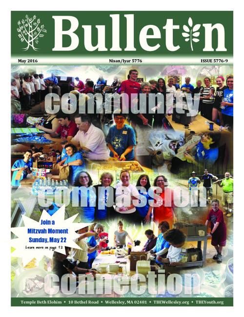 May Bulletin 2016