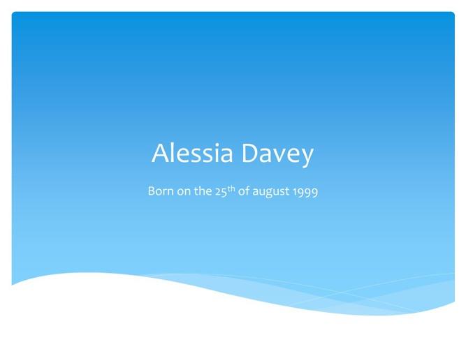 Alessia Davey