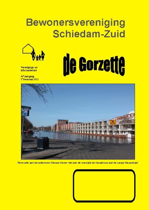 Gorzette 1e kwartaal 2012