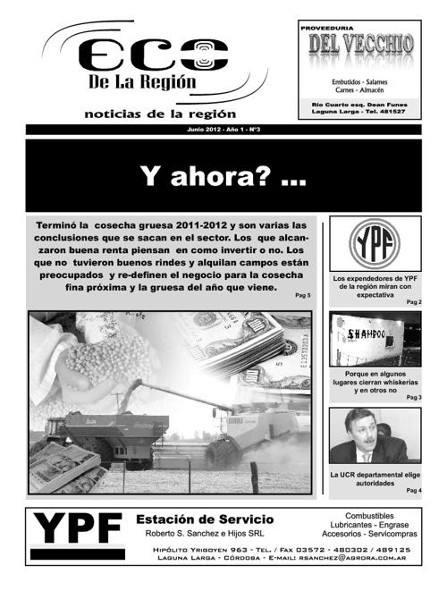 Eco de la Región - Junio 2012