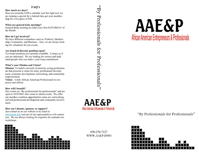 AAE&P Brochure