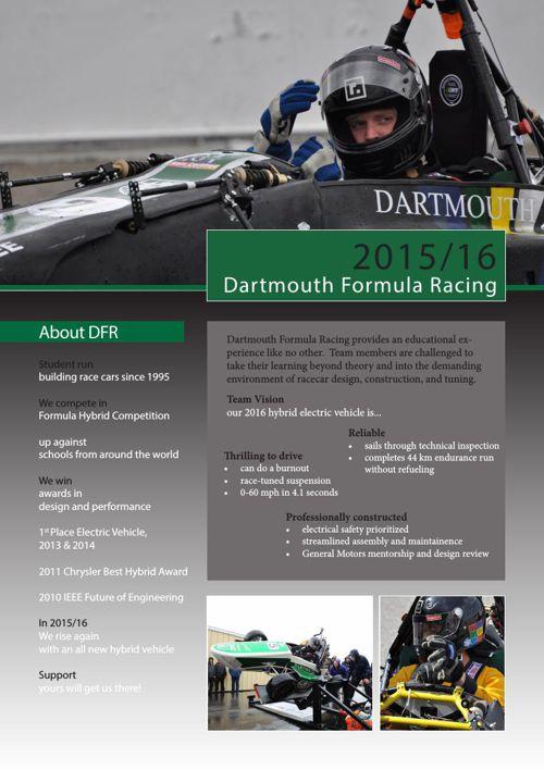 DFR 2016 Sponsorship Information