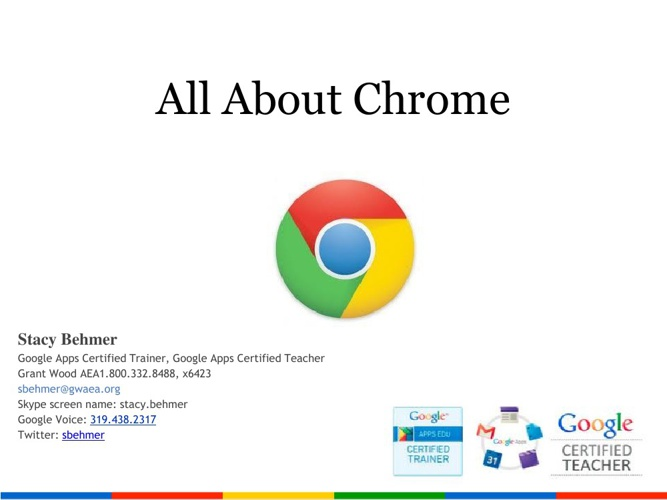 Copy of All About Chrome
