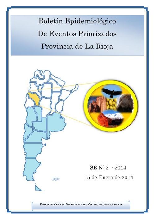 BOLETIN EPIDEMIOLOGICO SE 2 - ENERO 2014