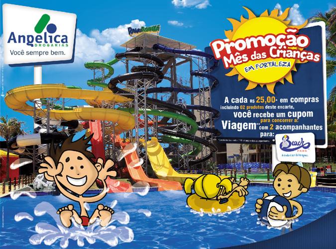 Drogarias Angélica - Promoção Mês das Crianças em Fortaleza