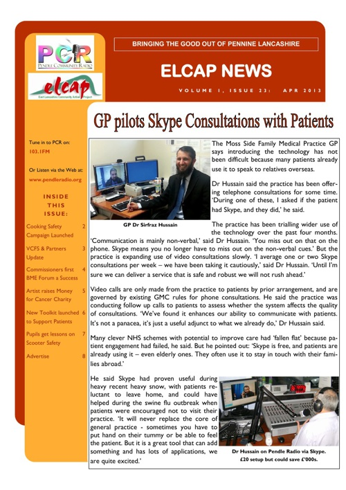 Issue 23 - Apr 2013 - ELCAP E-Newsletter