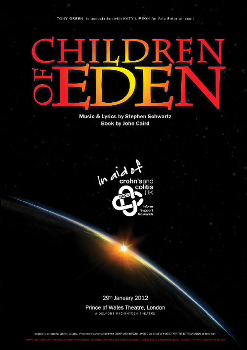 Children of Eden Concert Programme - 29 Jan 2012