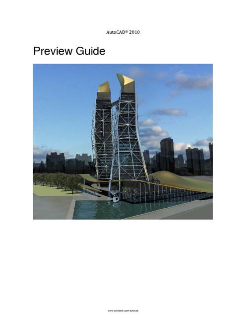 pro guide aucad 2011