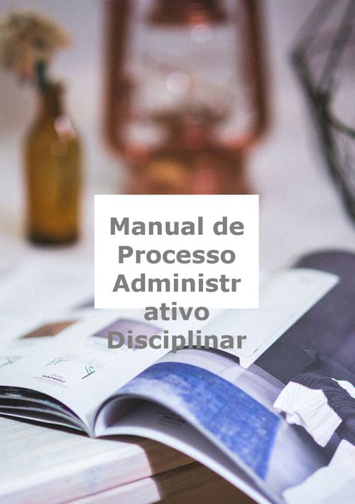 Manual de Processo Administrativo Disciplinar