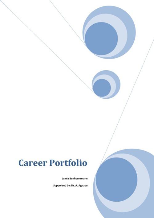 LamiaBenhoummane/CareerPortfolio
