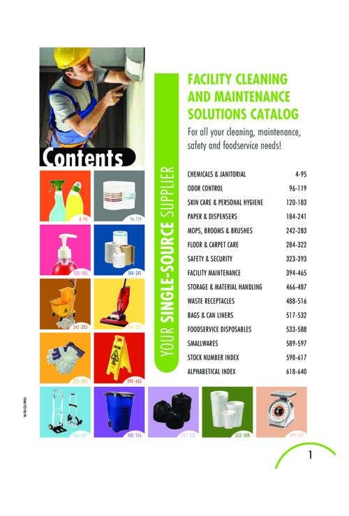 Facility Supply Catalog Part 1