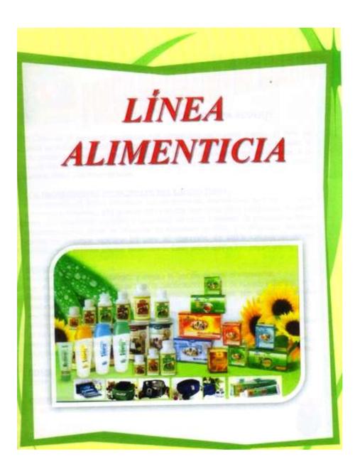 Catalogo Linea Alimenticia Tiens