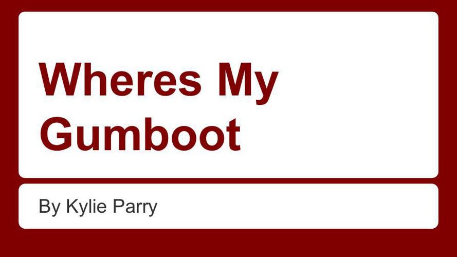 Where's My Gumboot-