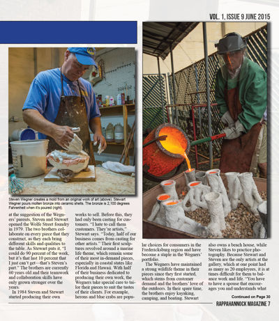 Rappahannock Magazine JUNE 2015 - FOR WEB