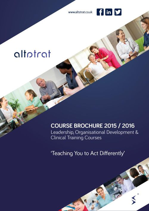 altstrat Course Brochure 2015-16