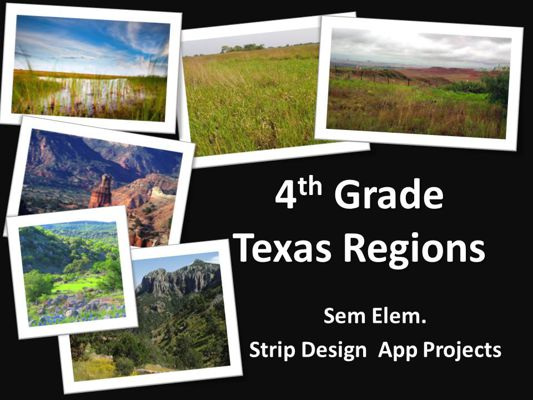 Gibson: Texas Regions LifeCards App Project