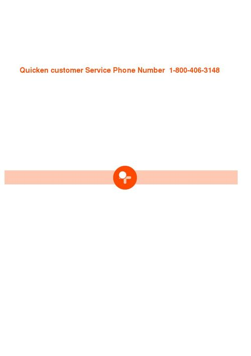 Quicken customer service phone numbers and support