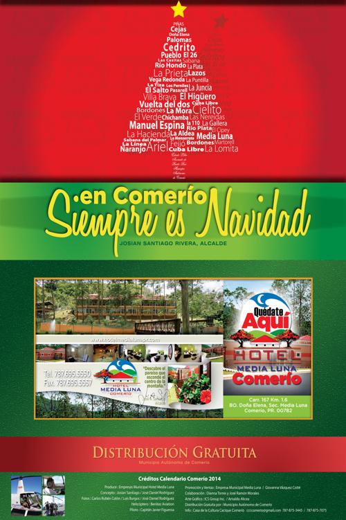 Calendario Comerío 2015
