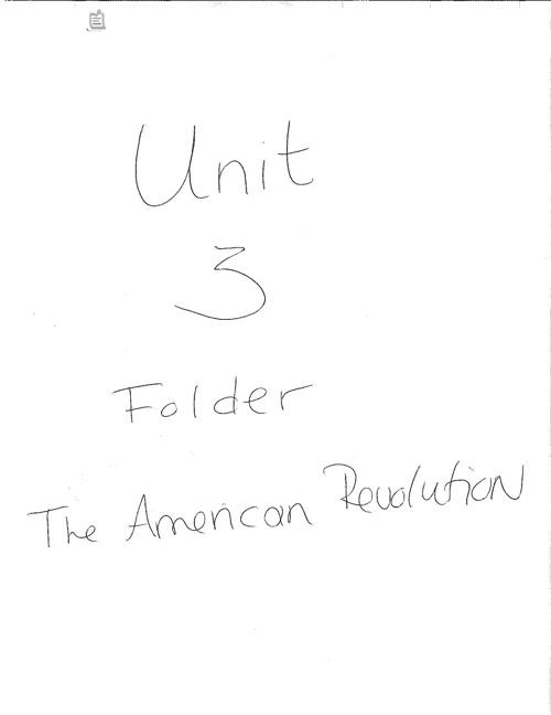 Unit 3 Folder